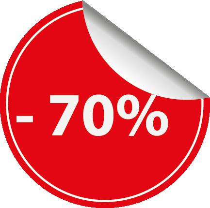 Compre com descontos de até 70%